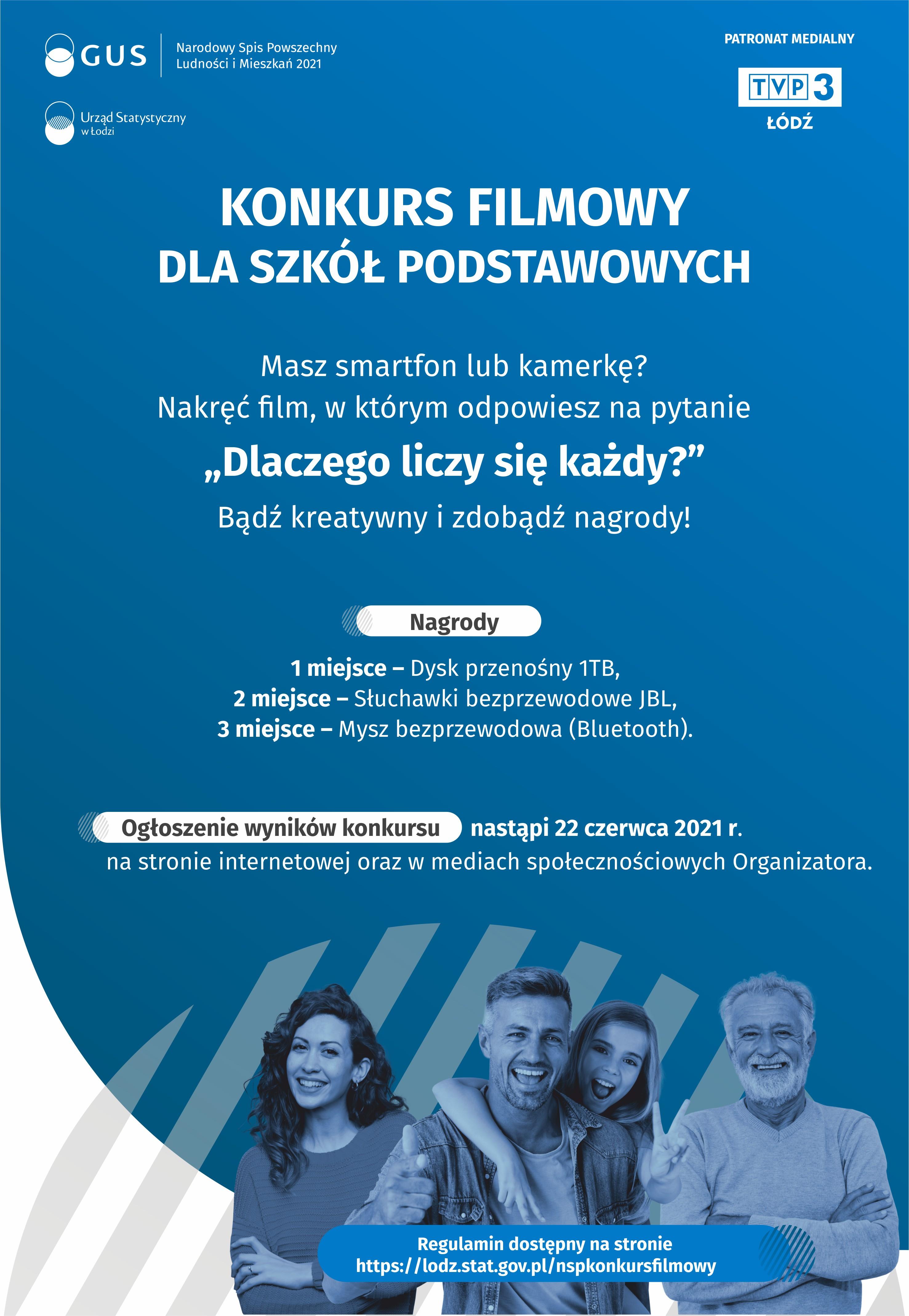 Plakat GUS Łódź