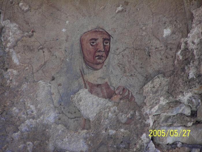 Fresk Św. Anny