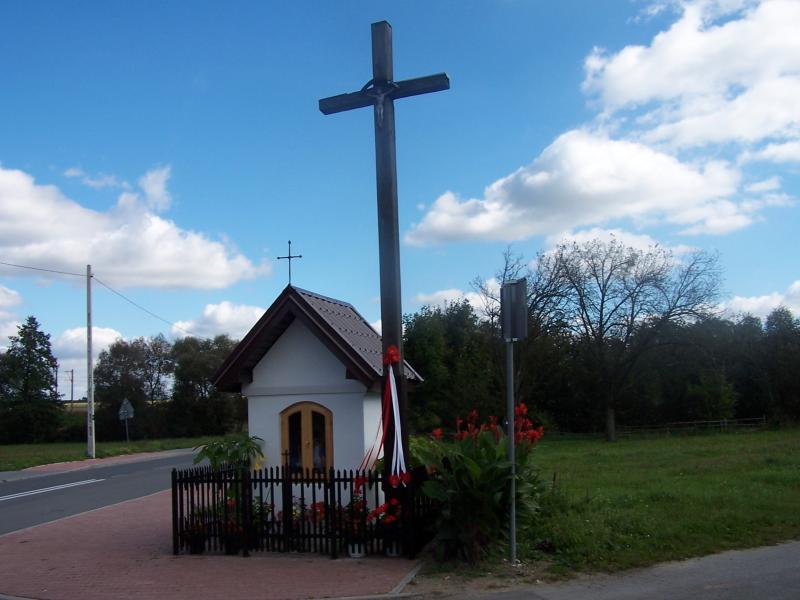 Kapliczka Radzice Duże
