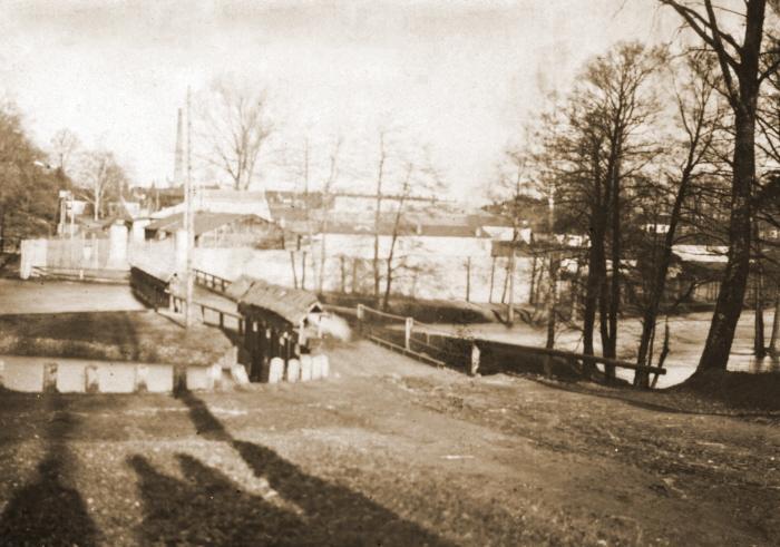 Most Gerlach dawniej