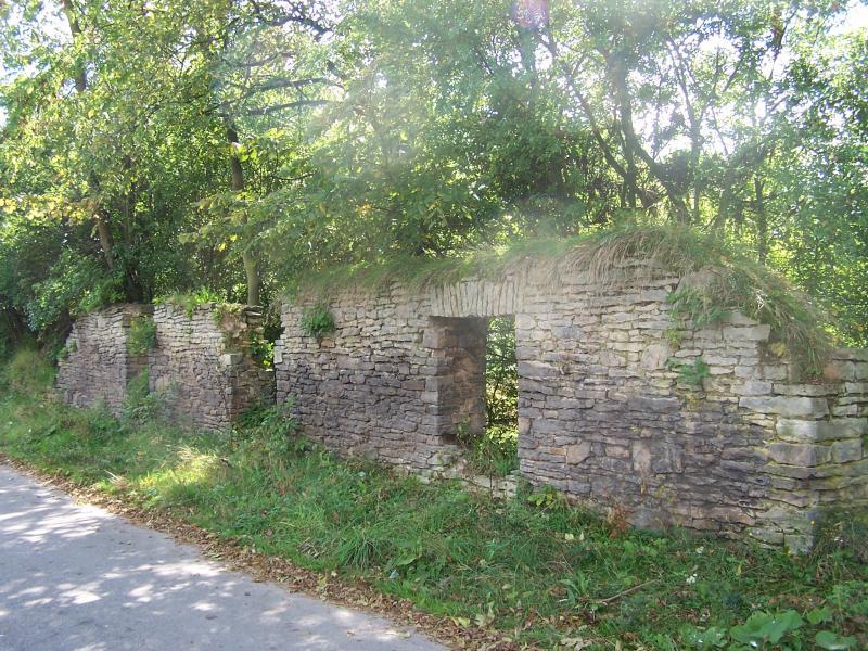 ogrodzenie kamienne