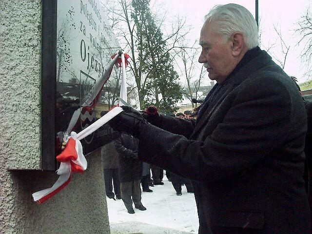 Ryszard Kaczorowski w Drzewicy