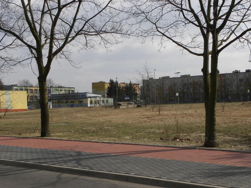 RCK teren przed realizacją projektu