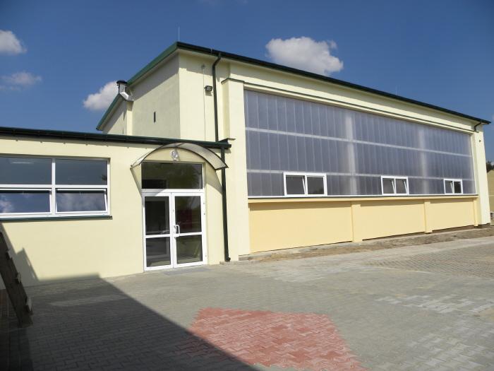 hala sportowa w Brzustowcu