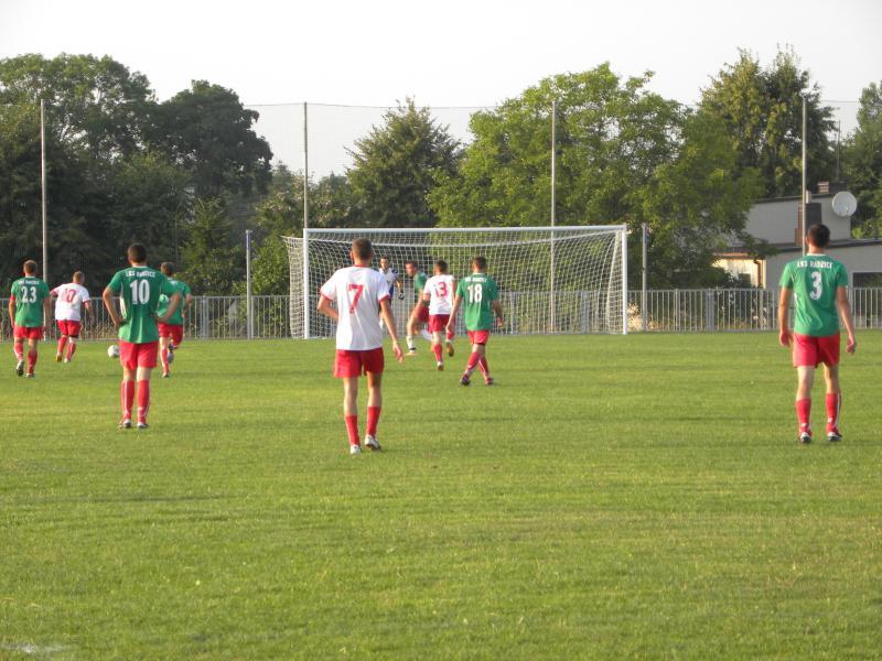 Boisko LKS Radzice mecz