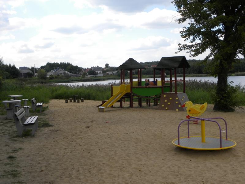 Plac zabaw kąpielisko